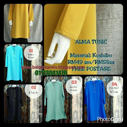 BLOUSE ALMA TUNIC
