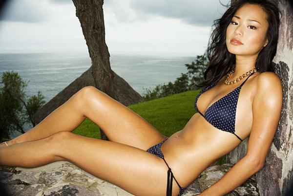 Jamie Chung Sexy in Bikini