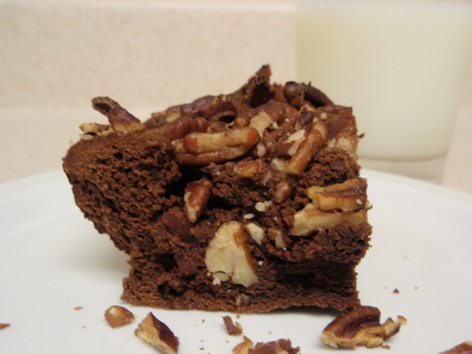 Bourbon Bacon Brownies Recipe — Dishmaps
