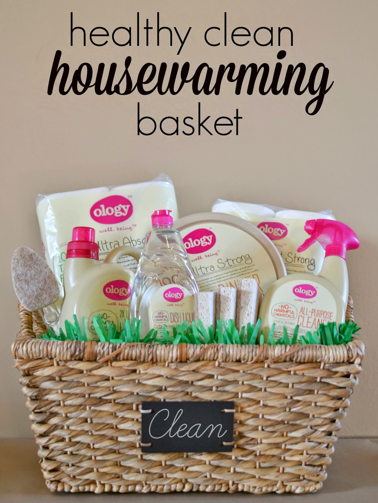 Mommy Testers, eco friendly housewarming gift, healthy cleaning housewarming gift, Cleaning basket gift,