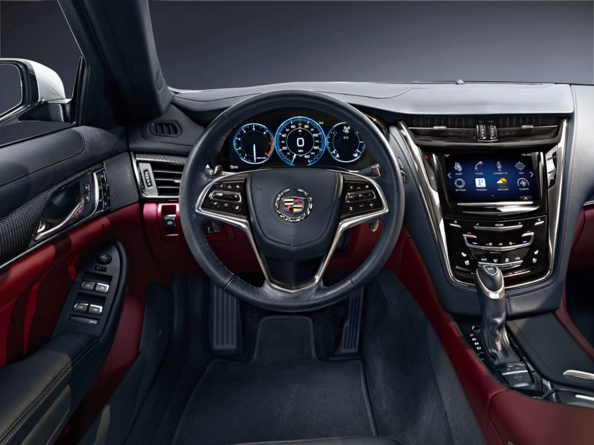 The larger and longer third generation cts offers a new twin turbo 6 cylinder and