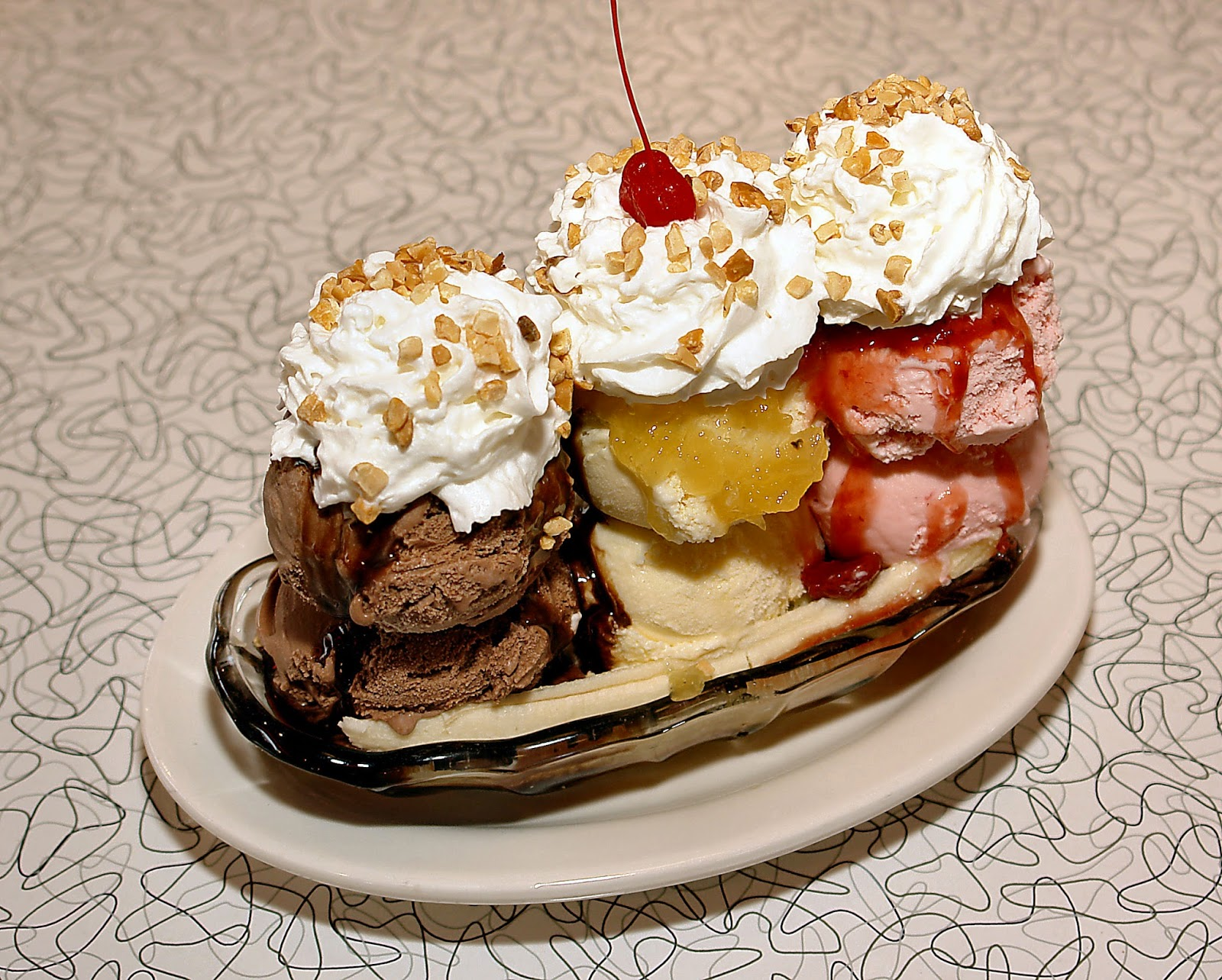 The Ultimate Banana Split