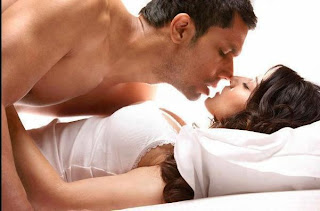 girl and boy very hot on bed