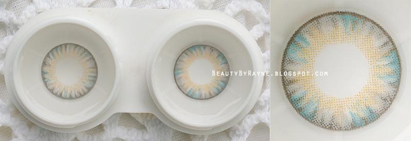 Vassen Rainbow Eyes/Lucky Clover Cocoro in Grayish Blue, aka Royal Vision Creamy