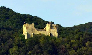 Neamt Fortress seen from DN15B