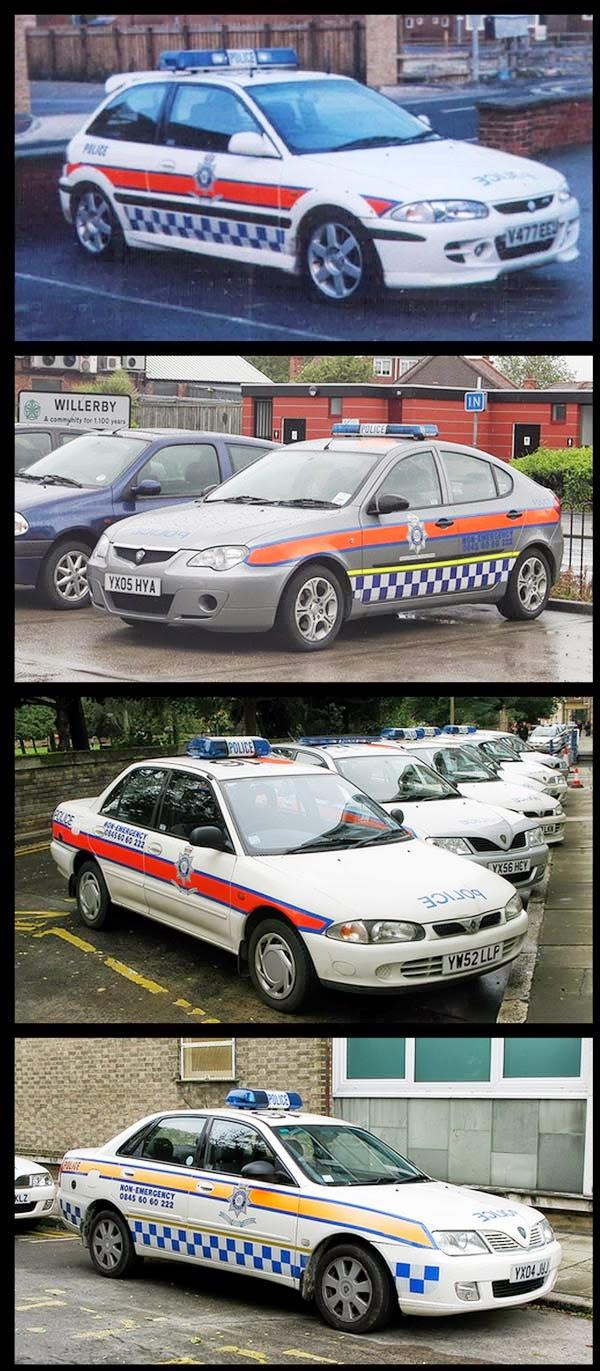 Kereta Proton Dijadikan Kereta Polis Di England