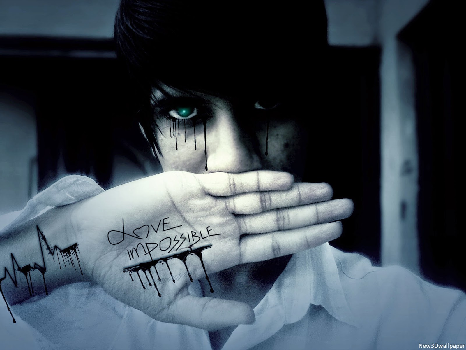 Emo Sad Love Wallpaper : Sad Emo Boys Wallpapers NEW 3D WALLPAPER