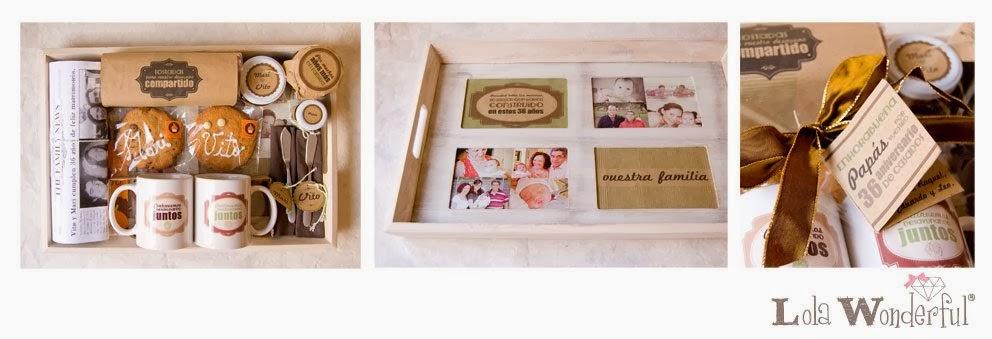 Lola wonderful regalos personalizados y dise o para - Regalos 50 anos de casados ...