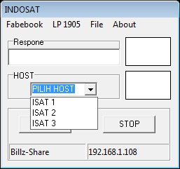 Inject Indosat Squid Multi 3 Host 23 Desember 2015