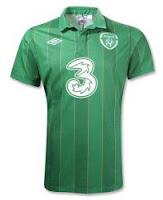 Euro 2012 Ireland Home Jersey