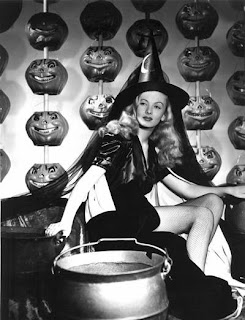Halloween Pinup Girl Witch