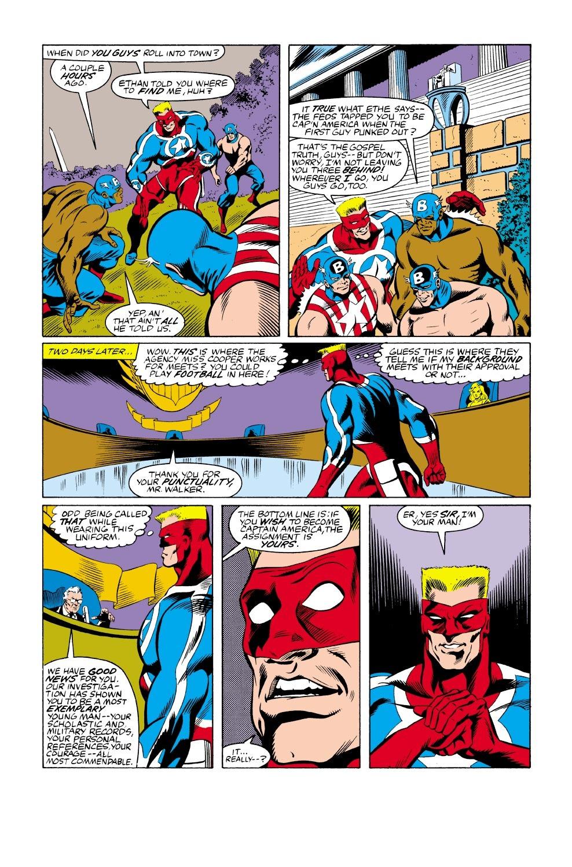 Captain America (1968) Issue #333 #262 - English 16