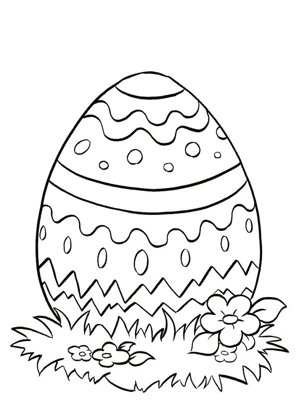 Easter Coloring In Sheets : Easter coloring pages for kids holiday