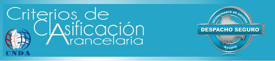 Clasificación Arancelaria CNDA