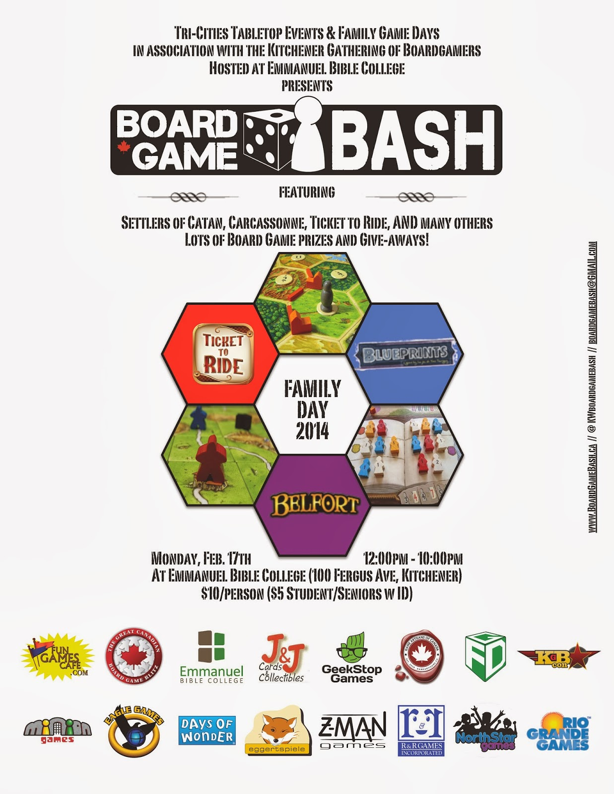 death of monopoly board game bash 2014