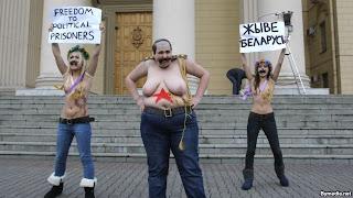 femen в Беларуси