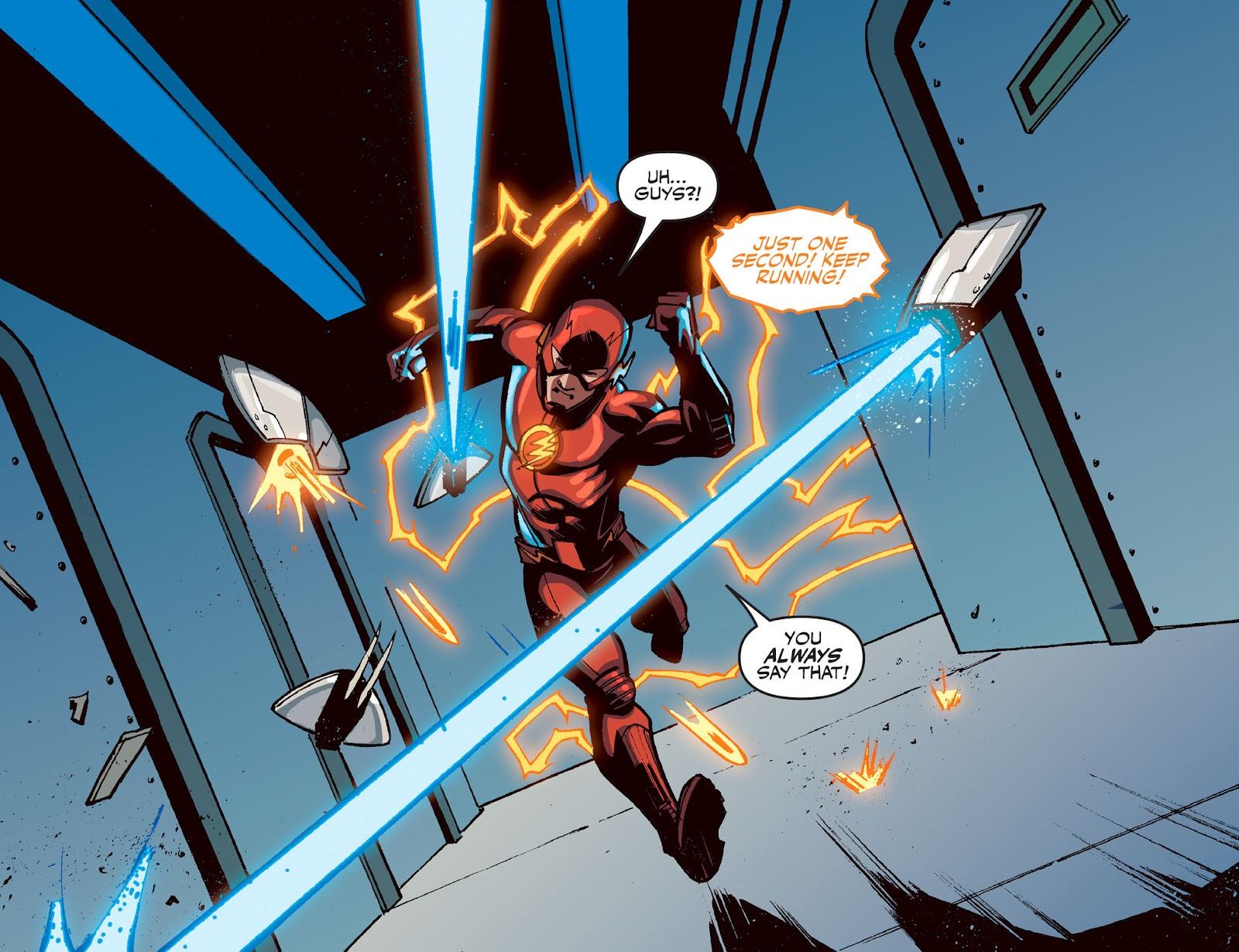 The Flash: Season Zero [I] Issue #16 #16 - English 11