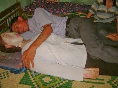 dormia con el cadáver de su novia