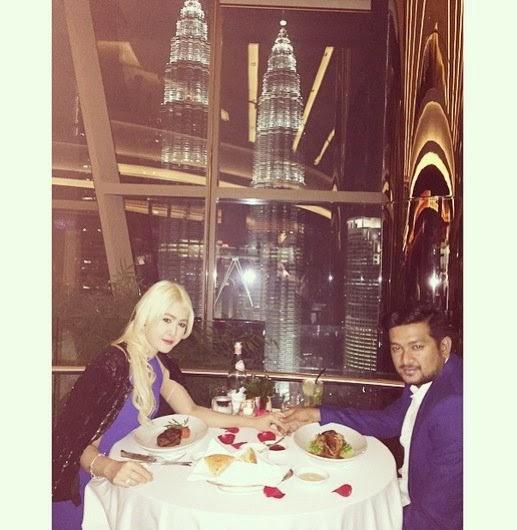 Foto Eina Azman & Suami Sempena Hari Lahir, info, terkini, hiburan, sensasi, Eina Azman,
