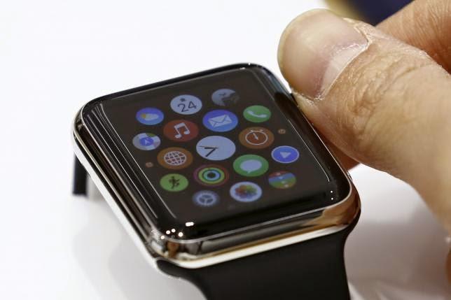 Apple mackintosh thwarts geeks, investors probing smartwatch ingredients.