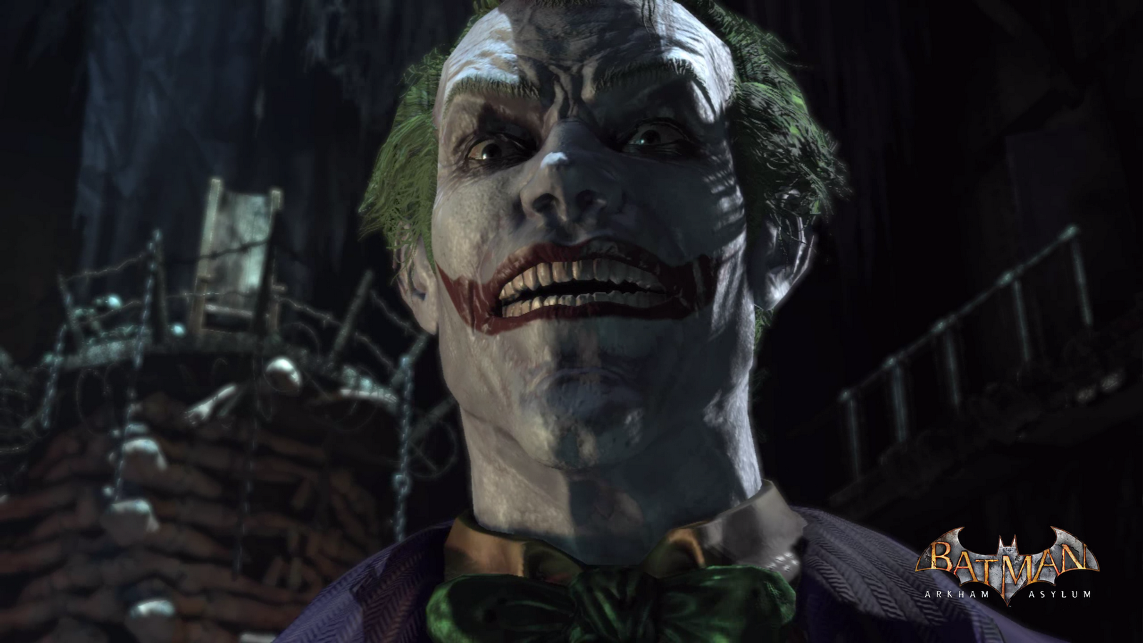 Download Joker Batman Arkham Asylum Wallpaper Loadpaper Free