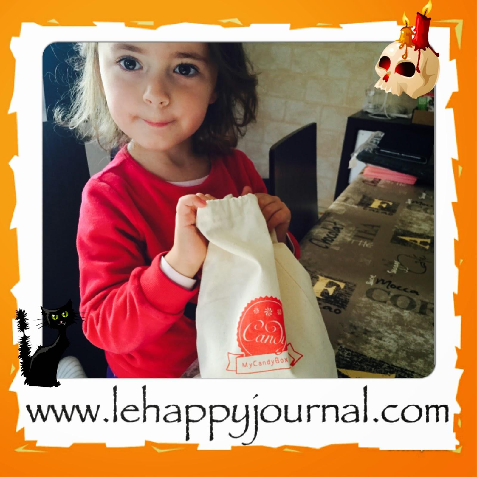 my candy box, box, coffret, mensuel, bonbon, gourmand, partenaire, happy journal