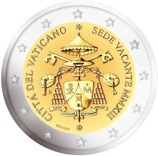 Vatikaanivaltio erikoiseuro Sedisvakanssi  Sede Vacante 2013