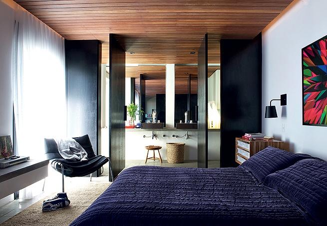 Adesivo De Contato Killing Kisafix ~ blog de decoraç u00e3o Arquitrecos Banheiro aberto para o quarto Efeito Loft
