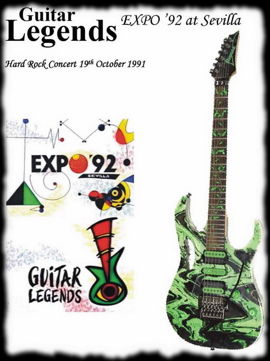 Guitar Legends Sevilla 92 ... 89 minutos