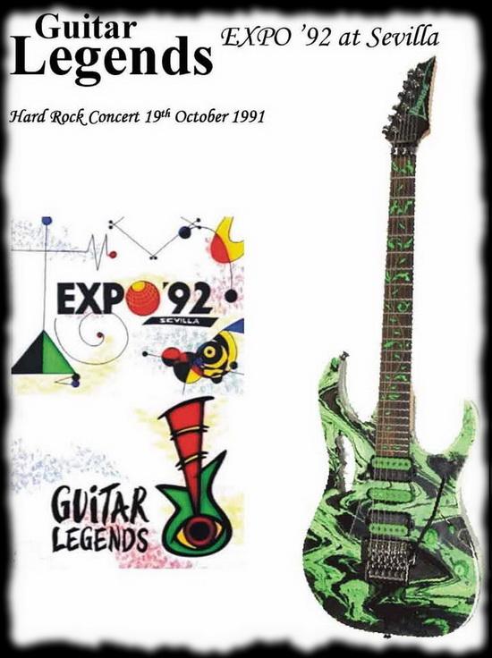 Guitar Legends Sevilla 92 ... 89 minutos