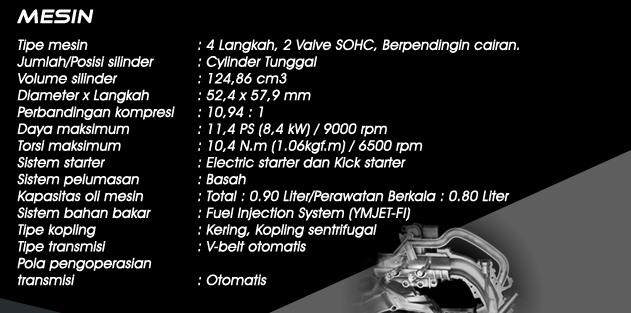 Info Harga dan Spesifikasi Yamaha Xeon RC Lengkap 2013