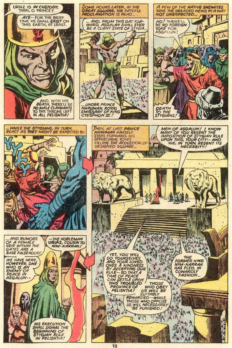 Conan the Barbarian (1970) Issue #93 #105 - English 8