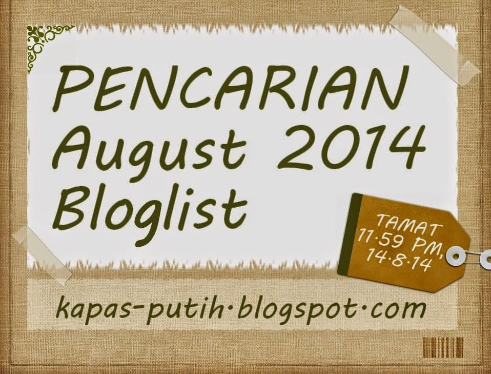 http://kapas-putih.blogspot.com/2014/08/segmen-kapas-putih-august-bloglist.html