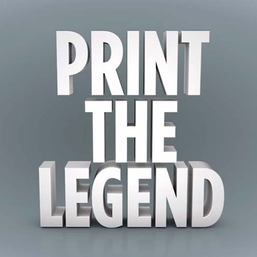 Poster de la película Print the legend (2014)