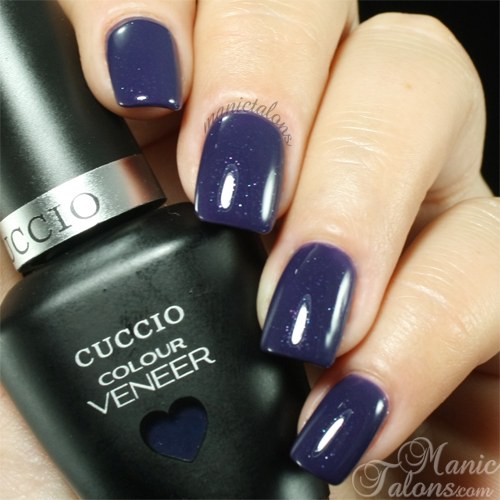 Cuccio Colour Veneer Purple Rain in Spain Swatch