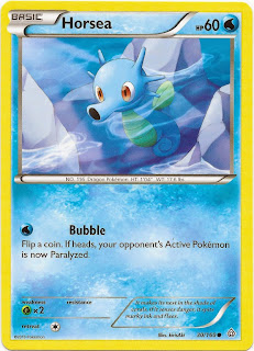 Horsea Primal Clash Pokemon Card