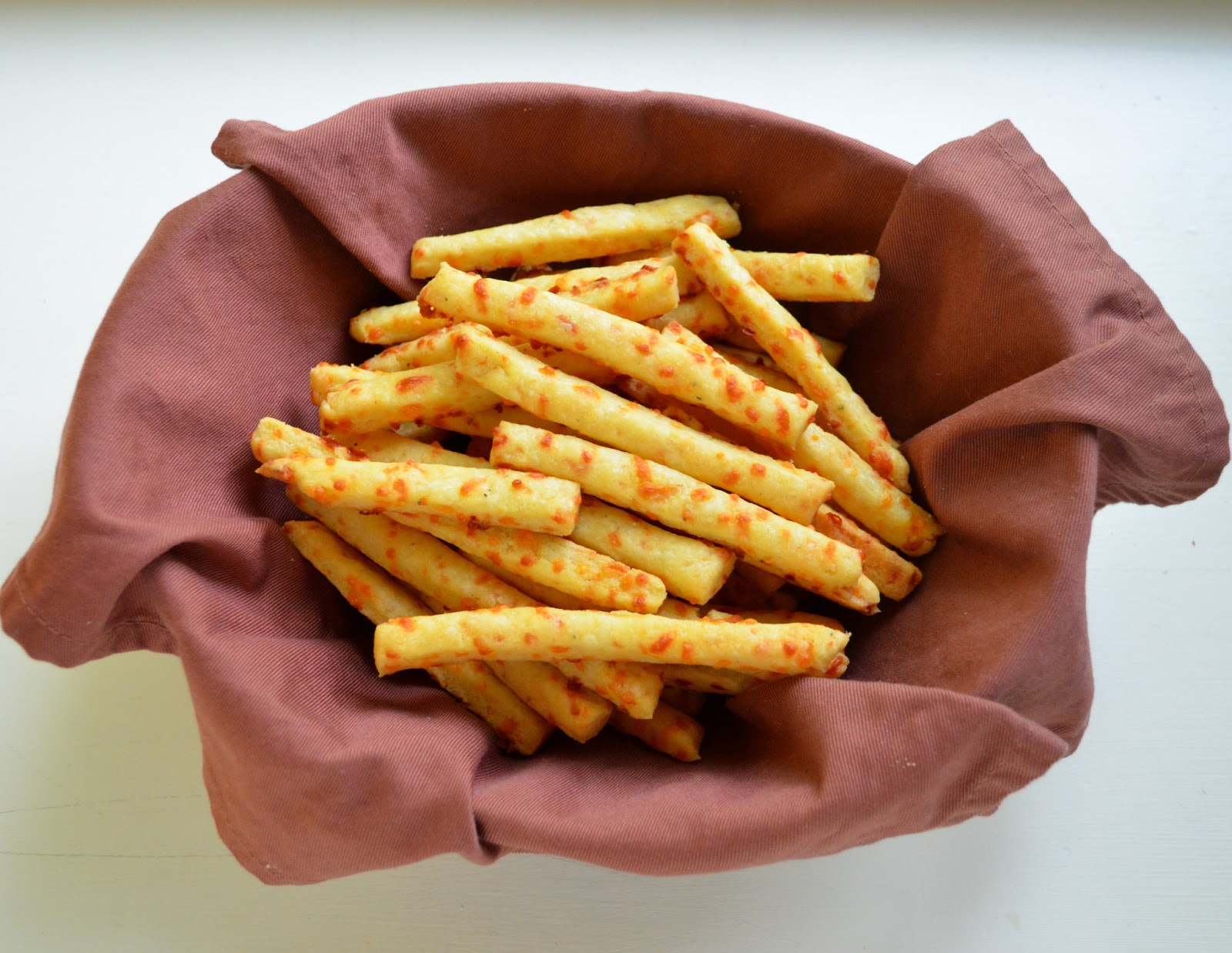 Cheddar Cheese Straws | Searching for Dessert