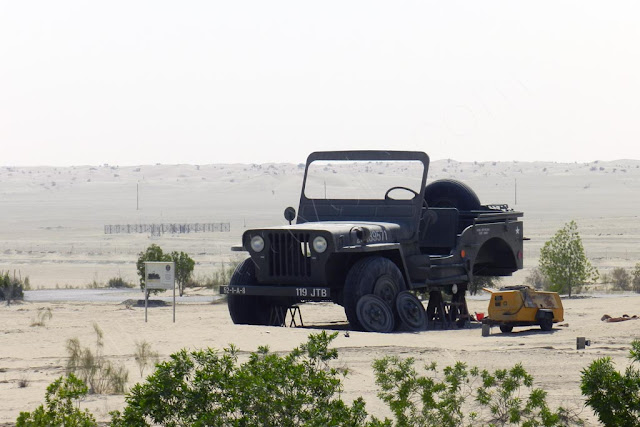 World largest Willys WW2 Jeep (4:1 scale)