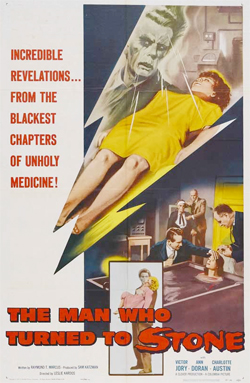 Poster - The Man Who Turned to Stone (1957)