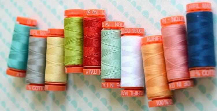 aurifil thread, camille roskelley