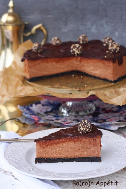 sernik czekoladowy przepis