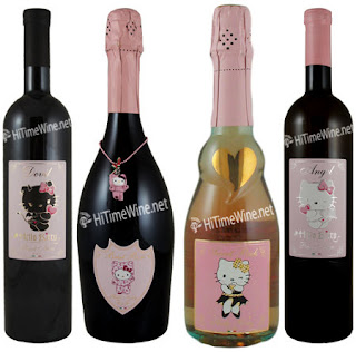Hello Kitty Wine