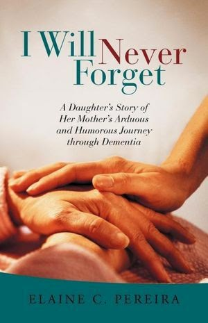 http://www.amazon.com/Will-Never-Forget-Daughters-Humorous/dp/1475906900/ref=sr_1_1?s=books&ie=UTF8&qid=1419911057&sr=1-1&keywords=Elaine+C.+Pereira