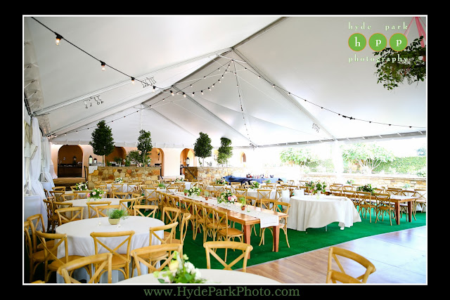 Tent on Event Lawn at Escondido Golf Club in Horseshoe Bay, Texas - wedding by The Fairy Godmothers Weddings & Events