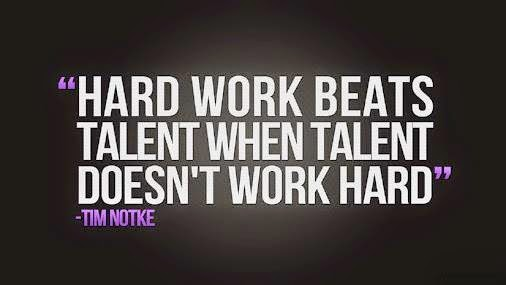 Related Keywords- Work hard Quotes, Talent Quotations, Hard-work Quote