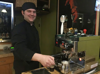 New Espresso Machine at Petes