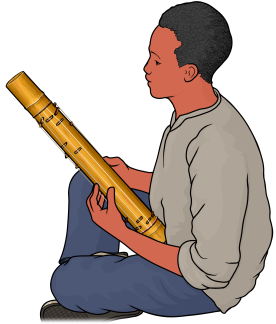 マダガスカルのバリハ Valiha