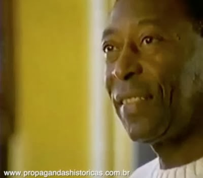 Propaganda do Pelé para a Nokia em 1995