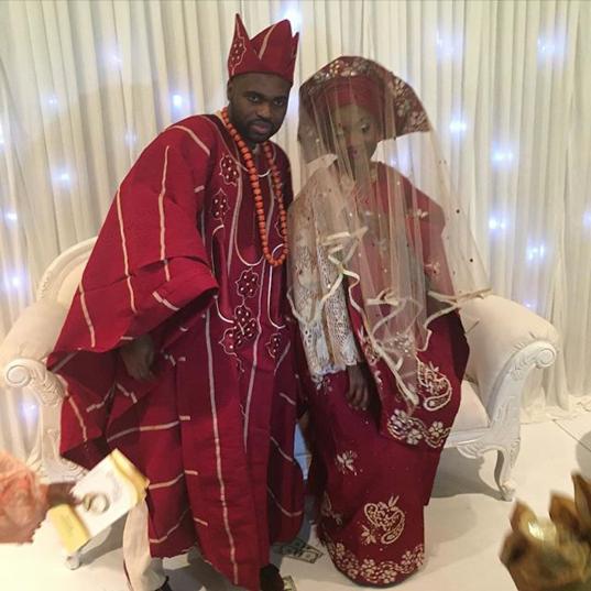 Funmi Odegbami Solomon Shonaiya wedding