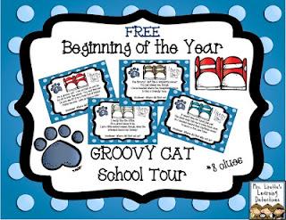 http://www.mrsliretteslearningdetectives.com/2013/07/groovy-cat-class-tour-free.html